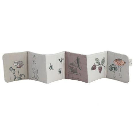 Raamat-voodipehmendus (lilla)