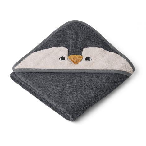 Kapuutsiga rätik Pingviin (70 cm)
