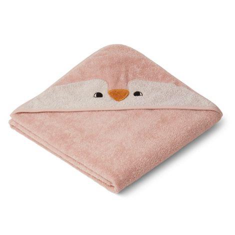 Kapuutsiga rätik Pingviin (100 cm)