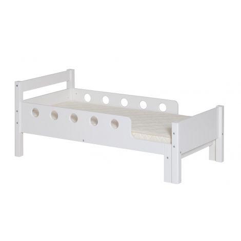 Pikendatav voodi Flexa White Junior