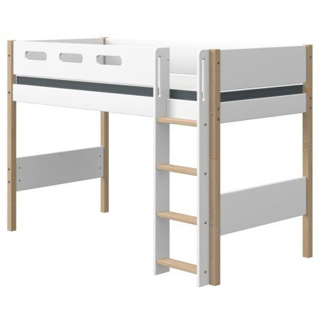 Kõrgem-poolkõrge voodi Flexa NOR