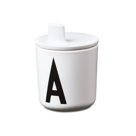 Joogitila Design Letters melamiinist tassile