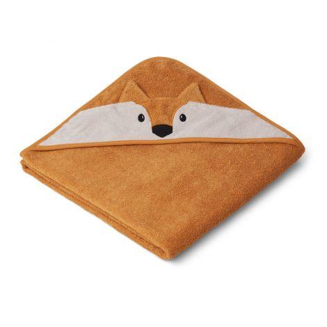 Kapuutsiga rätik Rebane (100 cm)
