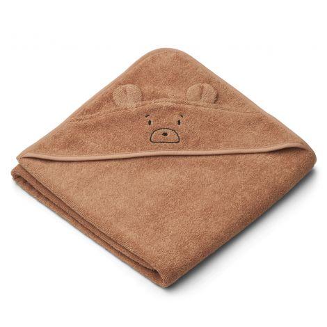 Kapuutsiga rätik Augusta - Karu (100 cm)