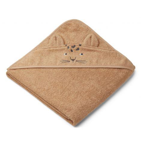 Kapuutsiga rätik Leopard (100 cm)