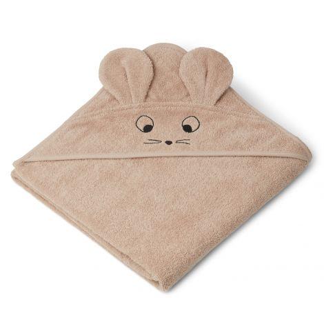 Kapuutsiga rätik Augusta - Hiir (100 cm)