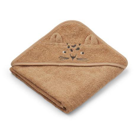 Kapuutsiga rätik Albert Leopard (70 cm)