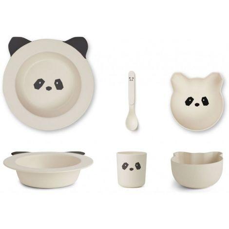 Toidunõude komplekt Barbara Panda