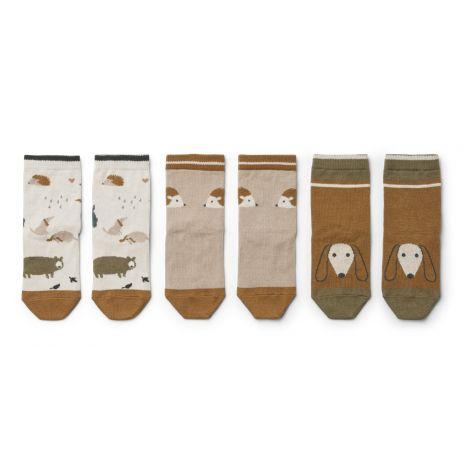 Sokid Silas - 3 paari