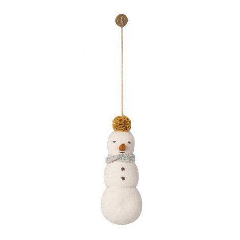 Ornament - kollase peakaunistusega lumememm