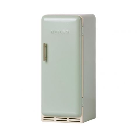 Miniatuurne metallist külmkapp