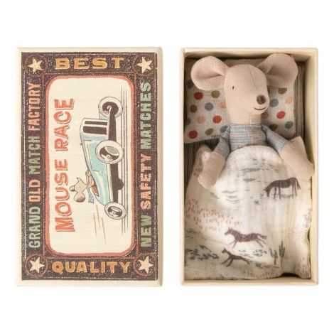 Maileg hiir - Väike Vend tikutoosis