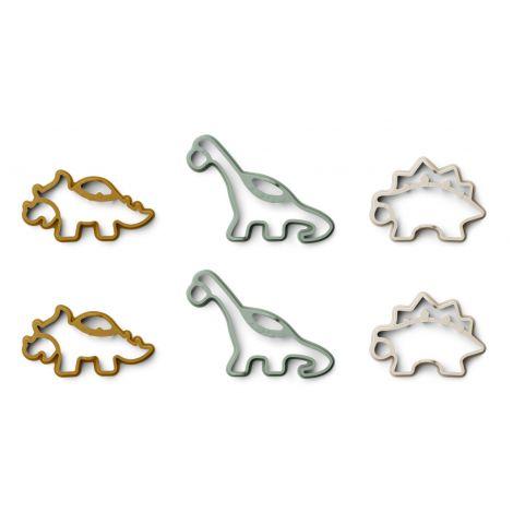 Pannkoogivormid Karina (6 tk) - Dino