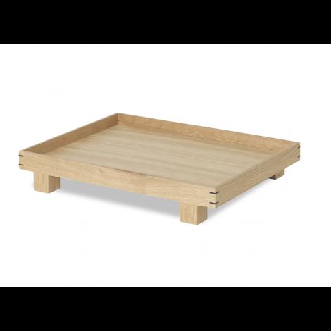 Väike puidust kandik ferm LIVING Bon